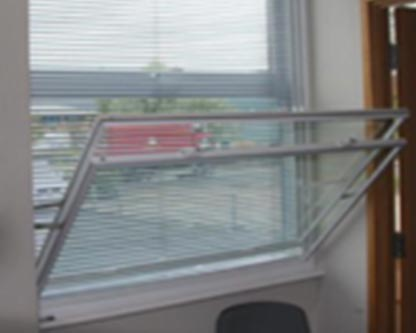 Deluxe vertical sliding secondary glazing