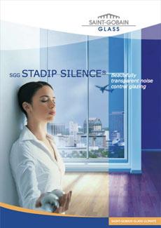Saint Gobain Stadip Silence glazing brochure thumbnail